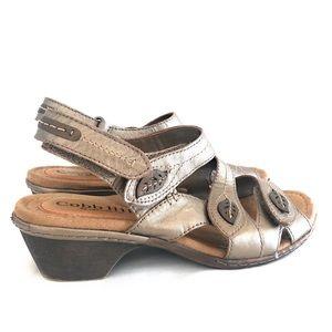 Leather wedge Sandals Cobb Hill New Balance Heels